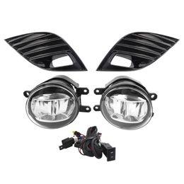 Lampen se online-Großhandel Auto Auto-Nebel-Lampen-treibende Licht-Montag mit H11 Birnen Rosten Schalterkabel Kit für Toyota Camry L / SE / XLE 2018-2019