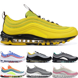 Großhandel Nike AiR Max 97 Red Leopard Yellow Steelers