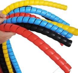 Argentina Tubo de cubierta de alambre de cable de bobinado espiral de protección de tubería de 2 m de línea 8mm Suministro
