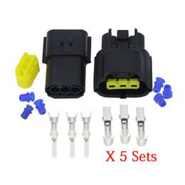 denso conectores Desconto CNLW 5 Define Pin 3 / Denso 1,8 DJ70316Y-1,8-11/21 UV oxigénio Fios eléctricos conector Denso 1,8 conector de ficha do conector de automóvel