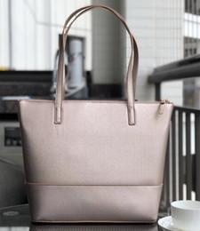 halloween totes vuoto Sconti Vendita di modo vuoto donne progettista borsa sulle cuciture di colore solido di spalla del sacchetto Quality PU casual Totes Shopping Bag