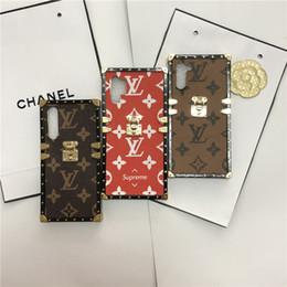 marcas de caja del teléfono de la flor Rebajas Classic Marca de edad Diseñador flor caja del teléfono para Huawei V30 P20 P30 P20PRO MATE 20 PU cuero para NOVA3 3I 4 2S 5 honor a 8X 10 9x 20pro 8Xmax
