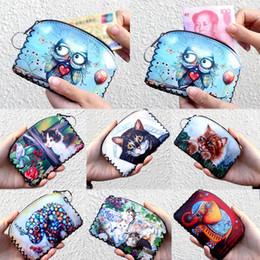 2019 beliebte koreanische brieftaschen Verkauf 1 STÜCK Hohe Qualität Eule Brieftasche Koreanische Beliebte Gestrickte Vintage Münze Lagerung Geldbörse Halter Frauen rabatt beliebte koreanische brieftaschen