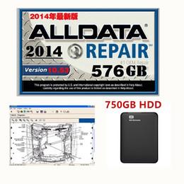 alldata autos Rabatt Heiße neue Ankunft 2019 alldata V10.53 Autoreparatursoftware und alle Datenautosoftware mit technischer Unterstützung für Autos und Lastwagen USB 3.0