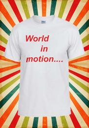 Encomendar tops on-line-Nova Ordem Mundo Em Movimento Engraçado Legal Das Mulheres Dos Homens Colete Regata Unisex T Shirt 2100 Engraçado frete grátis Unisex top Casual