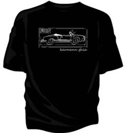 2019 estilos de camisa Karmann Ghia Tipo 14. Blueprint estilo design original t-shirt. Engraçado frete grátis Unisex Casual Tshirt desconto estilos de camisa