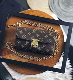 bf2a1f795f 2017 Classic Leather nero oro argento catena di trasporto libero di vendita  calda All'ingrosso borse al dettaglio borse borse a tracolla tote borse ...