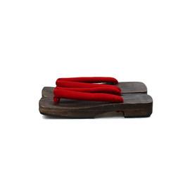 a5e5e2df5e725 Men s Cosplay Shoes Charcoal Color Wood Summer Sandals Flat Heel Flip Flops  Beach Slippers Classic Japan Geta Casual Clogs