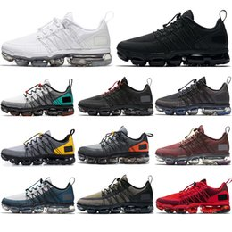 2020 chaussures blanches hommes populaires Nike Air Vapormax Utility 2020 Top populaire noir anthracite Run Utility chaussures de course pour hommes femmes Triple noir blanc BURGUNDY CRUSH Designer formateurs Sport Sneaker chaussures blanches hommes populaires pas cher
