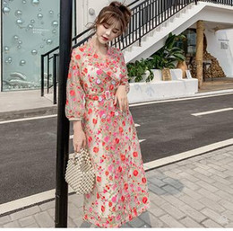 2019 retro donna primavera autunno organza garza ricamo fiori turn down colletto doppio petto midi lungo sottile trench coat casacos dress da