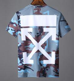 Chemise blanche en Ligne-T-shirts à la mode pour Hommes Coton Hip Hop Hommes Vêtements T-shirt Col Rond milliardaire Homme Tops Eté Manches Courtes Noir T-shirt Blanc