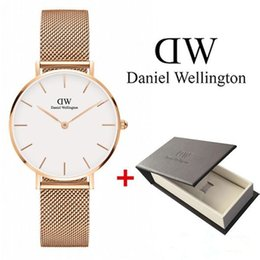 watch girls strip Coupons - New Fashion Girls Steel strip Daniel Wellington watches 32mm women watches Daniel wellington Quartz Watch DW Clock Wrist watches Relogio