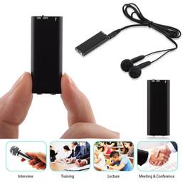 reproductor de litio mp3 Rebajas 829-8GB grabación de voz Reproductor MP3 multifunción Negro de litio de la batería 0,02 kg Kit de pluma de la grabación