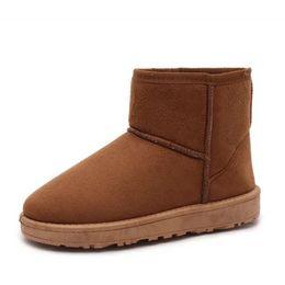 Botas confortáveis wedge tornozelo on-line-Mulher sapatos de Inverno Quente mulheres Botas de Neve sólida Flock Dentro Plataforma Ankle Boots Casual Flats Sapatos Confortáveis sapatos de Mulher