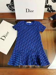 Deutschland MOS205 2019 2019 neue High-End-Custom Marke Kinderkleidung für Kinder Herbst und Winter neue Damen kurzärmeliges Kleid Zähler Qualität + Versorgung