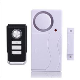 Беспроводная дверная сигнализация с дистанционным датчиком онлайн-Новый беспроводной магнитный датчик Двери окна детектор дистанционного управления запись детектор противоугонные Главная охранная сигнализация DHL бесплатная доставка