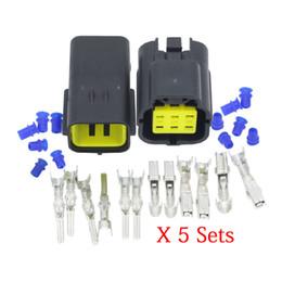 denso conectores Desconto CNLW 5 conjuntos de 6 Pino Denso 1,8 DJ70616Y-1,8-11/21 UV oxigénio Fios eléctricos conector Denso 1,8 conector de ficha do conector de automóvel