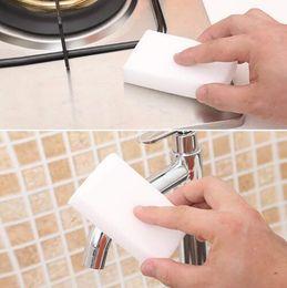 2019 limpiadores de esponja Nano Sponge Magic Sponge Eraser Melamine Cleaner para la cocina Herramientas de limpieza para el baño Esponja de melamina Clean Dish Rub Pot