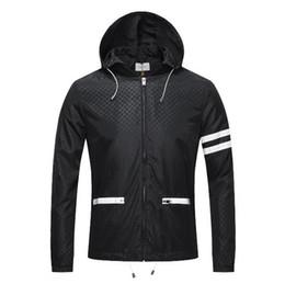 Мода отрезной куртка мужская куртка онлайн-2019 весна и осень ближайшие мужские новые моды высокого качества куртка с капюшоном роскошный съемный колпачок ~ топы дизайнер мужской высококачественной ткани куртка