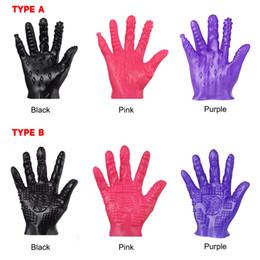 2019 masturbationshandschuh Fashion- Masturbation Erotik Finger Für Paare Sex Produkte Shop Spielzeug Handschuhe günstig masturbationshandschuh