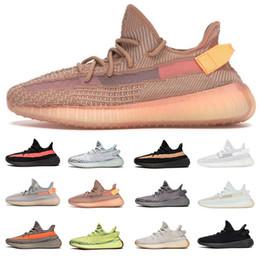 online store 01b09 61e97 MEILLEUR TOP Argile Véritable Forme Hyperspace v2 Chaussures De Course 2019  Hommes Femmes Kanye West Static Beurre De Sésame Beurre Béluga 2.0 Baskets  ...