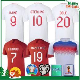 Camisetas de futbol de inglaterra online-2018 camisetas de fútbol RASHFORD jersey 2019 DELE KANE INGLATERRA local visitante camiseta de fútbol ropa de entrenamiento