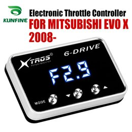 Car Electronic Throttle Controller Racing Accelerator Potent Booster For  MITSUBISHI EVO X 2008 2009 2010 2011 2012 Tuning Parts Accessory