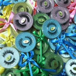 Lollipop Caja de calidad superior pestañas falsas tira de visón 3D pestañas de seda gruesas pestañas falsas falsas estilo 26 desde fabricantes