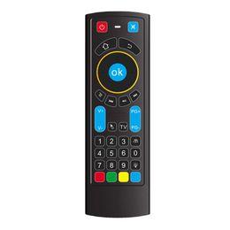 Tv pad à distance en Ligne-10pcs bluetooth MX3 pro rétro-éclairage air télécommande CR3 pour Android Smart TV Box HTPC IPTV Pad Xbox