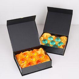 Estrela de dragonball concluída on-line-7 pçs / set 3.5 CM Dragon Ball Z 7 Estrelas Bolas PVC Figuras de Ação Brinquedos DragonBall Bola Conjunto Completo modelo presente das crianças crianças brinquedos