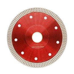 125mm de onda de diamante viu a lâmina para telha cerâmica seco corte agressivo Disco Mármore Granito Pedra lâmina de serra de Fornecedores de corte de gemas
