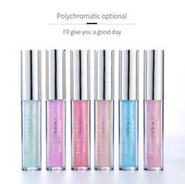 lápiz labial iluminado Rebajas maquillaje de los labios HANDAIYAN Partido luz polarizada colorida atractiva del lápiz labial Lip Gloss Labial Líquido Pigmento Moda Belleza Cosmética