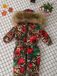 2019 ragazze calde giù giacca Piumino invernale per bambini stampato bambina piumino d'anatra, giacca a maniche lunghe, completo di piumino sconti ragazze calde giù giacca
