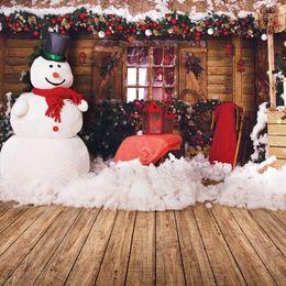 Santa Claus Photography Photo Studio Decor stützt Weihnachtshintergrund-fotografischen Brett-Hintergrund 3D von Fabrikanten