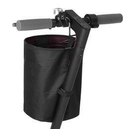 Scooter Parts Black Skateboard Scooter Front Carrying Storage Basket Universal For E-Bike Electric Accessories supplier electric parts for scooter от Поставщики электрические части для скутеров