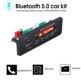 2020 placa do bluetooth mp3 decodificador 5 / 12V Car Radio Power MP3 Decoder Board FM Função de Memória Falha Bluetooth MP3 Player Decoder Board desconto placa do bluetooth mp3 decodificador