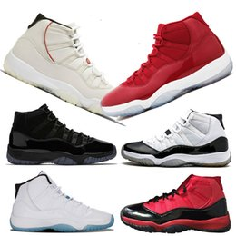 Canada Concord 45 2019 Traderjoes chaussures de basketball pour hommes 11S Sneakers infantile teinte platine Win Like 96 Haute Cérémonie de clôture pour jeune Euro 36-47 Offre