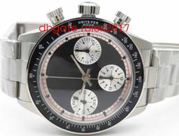 Часы онлайн-Мужские лучший выпуск Топ-Пол Ньюман номер модели / ref.6263 Blk Asia 7750 функциональный хронограф черный пользовательский циферблат с черным механизмом автоматические часы