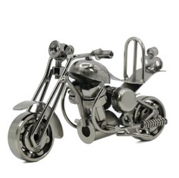 Fait à la main en fer forgé moto modèle Mettle M36 artisanat en métal décoration de bureau décorations avec couleurs de bronze noir-pistolet DHL gratuit ? partir de fabricateur