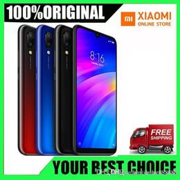 """Redmi nuovo telefono online-Batteria originale Xiaomi Redmi 7 3GB RAM 32GB ROM Snapdragon 632 Octa Core 12MP 6.26 """"4000mAh batteria"""