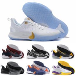kobe sneakers Rabatt Hohe Qualität 2019 Günstige Herren Kobe Mamba Focus EP Basketball Schuhe Schwarz Weiß Athletic Designer Sneakers Schnelle Lieferung Größe 40-46