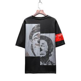 Clown freizeitkleidung online-Mens-Sommer-Breathable heißen Verkaufs-T-Shirts lösen Clown-Druck-Mode-T-Stück beiläufige kurze Hülsen Männlich Kleidung
