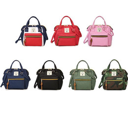 mochila de estudante japonês Desconto Meninas Saco de Ombro Estilo Japonês Mochilas Escolares Estudante Oxford Mulheres Cross Travel Bags Pequeno Impermeável Maternidade Mochila GGA2177