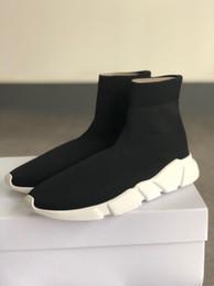 las mejores zapatillas ligeras Rebajas Diseñador de la marca Las mejores zapatillas de deporte del calcetín de la velocidad Hombres ligeros de las mujeres de punto de estiramiento Zapatillas de deporte de los medios Zapatos corrientes Zapatos de baloncesto SZ 35-46