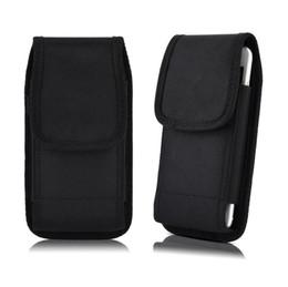 cubiertas textiles Rebajas Cubierta de la funda del teléfono de la funda del teléfono de la funda con clip de la funda de nylon del deporte para Universal para 3.5-6.3 pulgadas iPhone XS MAX X 7G 8G Samsung S8 S9 PLUS