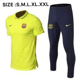 Messi vestito rosso online-polo 2019 NUOVO Barcellona Suarez 19/20 Barcellona Griezmann O.DEMBELE maglia Messi Coutinho 2020 verde rosso tuta short sheelve