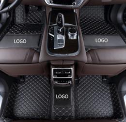 Logo envolvente online-Audi A5 2010-2019 alfombrilla antideslizante para automóviles rodeada de una alfombrilla de cuero impermeable y resistente al desgaste con logo