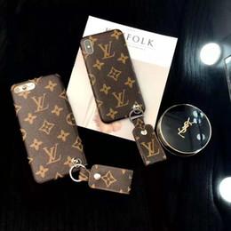 2019 handys rosa farbe Ein stück luxus marke pu leder designer phone cases für iphone x xs max xr 6 s 7 8 plus rückseitige abdeckung mode telefon case für geschenke