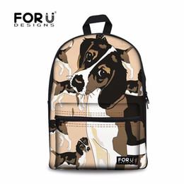 b5b1986c3 FORUDESIGNS Escola Mochila Schoolbag Beagles Impressão Sacos De Escola para  Crianças de 17 Polegada Satchel Meninos Adolescentes Crianças Saco Satchel  ...