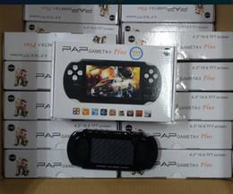 Игры mp4 mp5 онлайн-Новый PAP Gameta II плюс 16GB HDMI 64Bit игры MP4 MP5 TV игровые консоли портативный портативный игровой плеер TV Out камера Электронная книга PVP Pxp3 PVP GB мальчик